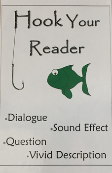 Hook Your Reader Anchor Chart