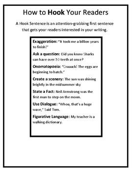 Hook Sentence Practice
