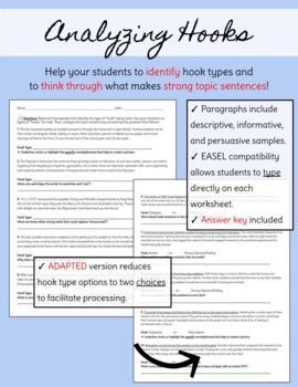 Hook Types Homework