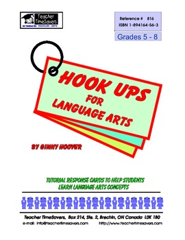 Hook Ups for Language Arts: Grades 5-8