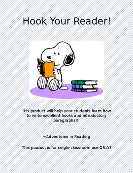 Hook Your Reader!