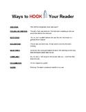 Hook Your Reader!