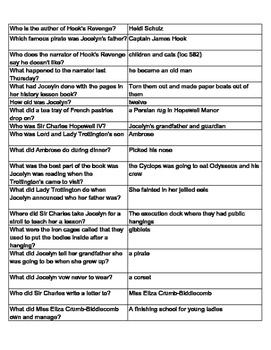 Hook's Revenge Quiz - 259 Questions & Answers