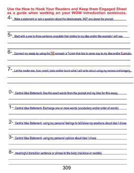 Hook to Hook the Readers and Keep them Engaged  (Voice in STAAR Writing)
