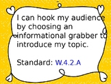 Hook your audience (expository writing)