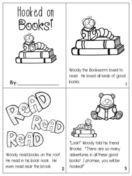 Hooked on Books {oo in book activity pack!}