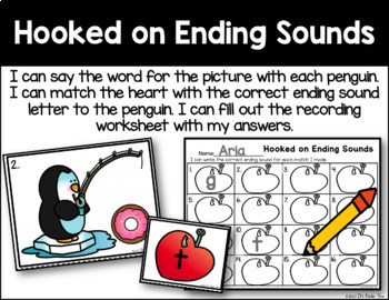 Hooked on Ending Sounds - Final Sound Identification