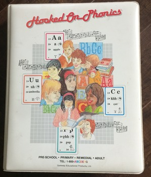 """Hooked on Phonics """"Learn to Read"""" 1988 edition"""
