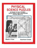 Physical Science Puzzles: 25 Word Search - Summer School Bundle