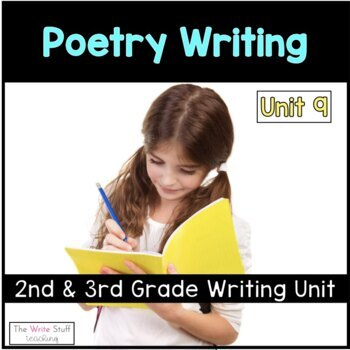 Hooked on Writing 2nd & 3rd Grade April: {Poetry}