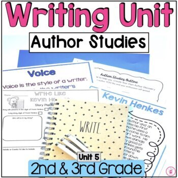 Hooked on Writing January {Voice & Author Studies}