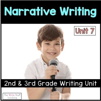 Hooked on Writing 2nd & 3rd Grade February: Fiction