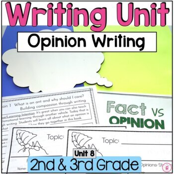 Hooked on Writing March: Opinion Writing {Using YOUR Voice}