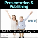 Writers Workshop Publishing and Presentation