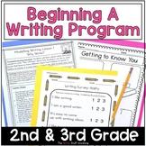 Writers Workshop Beginning a Writing Program