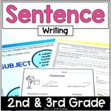 Sentence Writing Writers Workshop Writing Sentences