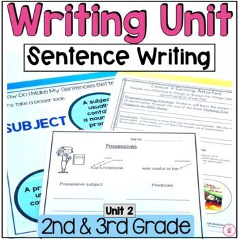 Hooked on Writing September {All About Sentences, Conventions}