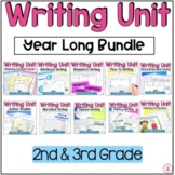 Hooked on Writing 2nd and 3rd Grade Year Long Writing Bund