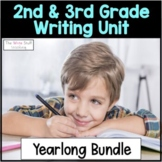 Hooked on Writing 2nd and 3rd Grade Year Long Writing Curriculum