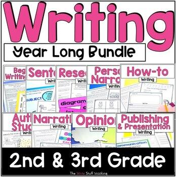 Hooked on Writing YEAR LONG BUNDLE