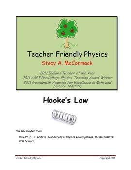 Hooke's Law Lab