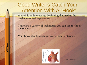 Hooking Your Reader