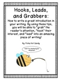 Hooks, Leads, & Grabbers - How to write a great introduction