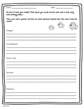 hooks writing strong leads by alex salvati teachers pay teachers. Black Bedroom Furniture Sets. Home Design Ideas