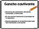 Writing Hooks in Spanish/ Ganchos en la escritura