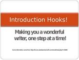 """Hooks"" in Writing"