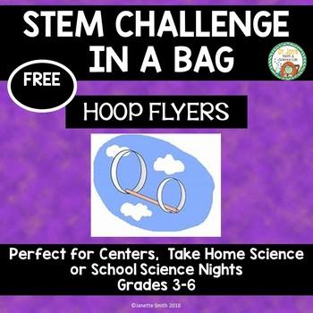 Hoop Flyer:  STEM Challenge in a Bag