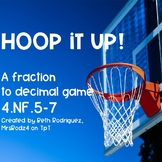 Hoop It Up! Fractions & Decimals