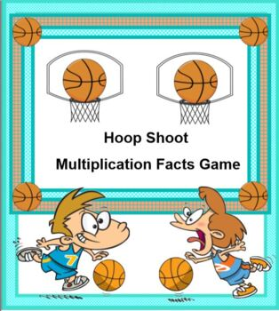 Hoop Shoot Multiplication Facts Game
