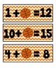 Hoop it Up! (Basketball themed math centers)