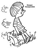 Hooper Humperdink Coloring Page