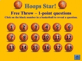 Hoops Star! Road to Revolution: Causes of the American Revolution Game