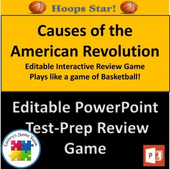 Hoops Star! Road to Revolution: Causes of the American Rev