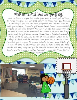 Hoops for Scoops: A Classroom Motivation Plan