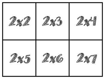 Hooray, Arrays! {Multiplication Card Game}