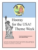 Hooray For The USA! Preschool Theme Week