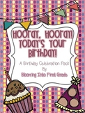 Hooray, Hooray, Today's Your Birthday! Birthday Celebration Pack