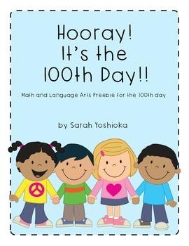 Hooray!! It's the 100th Day!! Freebie