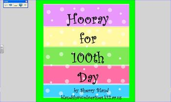 Hooray for 100th Day Smart Notebook