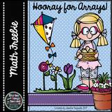 Hooray for Arrays!  Spring Multiplication Activity Booklet & Math Mats {FREEBIE}