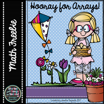 Hooray for Arrays!  Spring Multiplication Activity Booklet