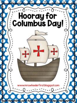 First Grade Social Studies: Columbus Day