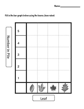 Graphing Unit - Hooray for Fall!