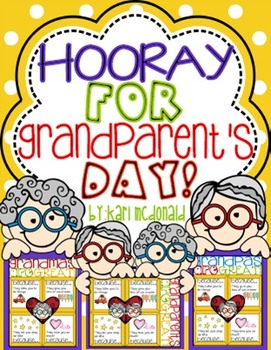 Hooray For Grandparents Day An Adorable Grandparent Craftivity Tpt