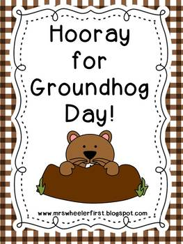 First Grade Science: Groundhog Day
