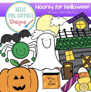 Hooray for Halloween Clipart